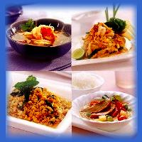Tom Yum, Pad Thai, Pasil Mint